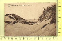 OOSTDUINKERKE: La Mer à Travers Les Dunes - Oostduinkerke