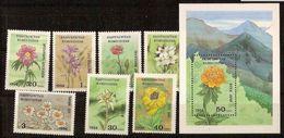 KYRGYZSTAN, Flowers, 1994, Mi.# 29 – 36, MNH **. - Kyrgyzstan