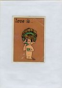 141209  Vecchia Figurina PANINI FIGURINE PANINI SERIE LOVE IS NUMERO 54 - Sports