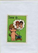 141209  Vecchia Figurina PANINI FIGURINE PANINI SERIE LOVE IS NUMERO 99 - Sports