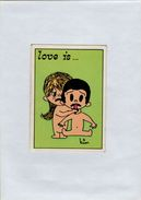 141209  Vecchia Figurina PANINI FIGURINE PANINI SERIE LOVE IS NUMERO 136 - Sport