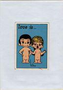 141209  Vecchia Figurina PANINI FIGURINE PANINI SERIE LOVE IS NUMERO 138 - Sport