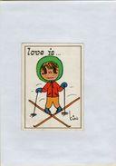 141209  Vecchia Figurina PANINI FIGURINE PANINI SERIE LOVE IS NUMERO 150 - Sport