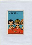 141209  Vecchia Figurina PANINI FIGURINE PANINI SERIE LOVE IS NUMERO 178 - Sports