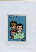 141209  Vecchia Figurina PANINI FIGURINE PANINI SERIE LOVE IS NUMERO 206 - Sport