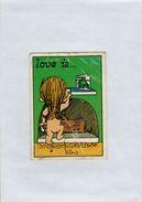 141209  Vecchia Figurina PANINI FIGURINE PANINI SERIE LOVE IS NUMERO 228 - Altri