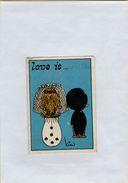 141209  Vecchia Figurina PANINI FIGURINE PANINI SERIE LOVE IS NUMERO 17 - Altri