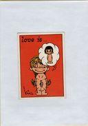 141209  Vecchia Figurina PANINI FIGURINE PANINI SERIE LOVE IS NUMERO 14 - Sport