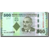 Tanzania, 500 Shilingi, Undated (2010), Undated (2010), KM:40, NEUF - Tanzanie