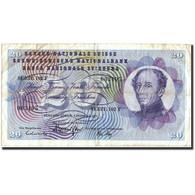Suisse, 20 Franken, 1974, 1974-02-07, KM:46v, TB+ - Suiza