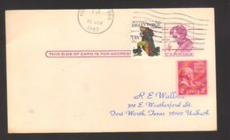 7498- United States , USA,  Postal Card Postal Stationery – From Honolulu - Entiers Postaux
