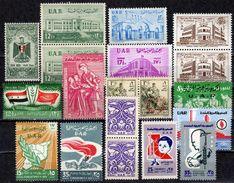 SYRIEN UAR - Lot 1959 Alles Feinst  ** / MNH - Syrien