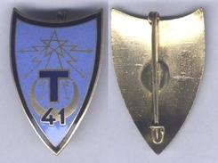 Insigne Du 41e Régiment De Transmissions - Armée De Terre