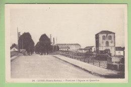 LURE : Pont Sur L'Ognon Et Quartier. TBE. 2 Scans. Edition CLB - France