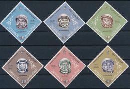GIORDANIA - 1965, Cosmonauts  - Mi. 493/98 - Yv. 462/67 Serie Cpl. 6v. Nuovi** Perfetti - Giordania