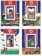 COREA DEL NORTE    H/B  AÑO INTERNACIONAL DEL NIÑO   MNH  ** - Corea Del Nord