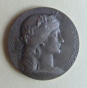 Médaille En Argent - Délégation Cantonale De Sèvres - Prix De Dessin - Graveur Henri Alfred Auguste Dubois - Professionnels / De Société