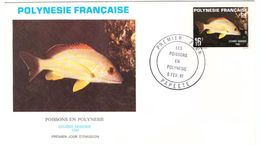 Enveloppe Premier Jour Polynésie Française 1981 - FDC