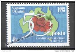 Ukraine 1998 Yvert 356, 50th Anniversary Of The Ukrainian Emigation In Australia - MNH - Ucrania