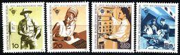 Berlin - Mi 342 / 345 ✶✶ # - Weltkongreß IPTT - Unused Stamps