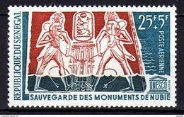Sénégal P.A. N° 39 XX  Sauvegarde Es Monuments De Nubie., Sans Charnière TB - Sénégal (1960-...)