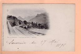 Cpa Cartes Postales Ancienne - Les Ponts De Claix - Claix