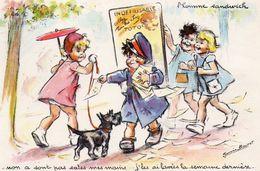 78Cu  Germaine Bouret L'homme Sandwich Crasseux En TBE - Bouret, Germaine