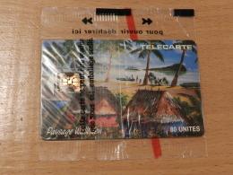 WF 4 NSB  / FALE PAYSAGE WALLISIEN  / 80 UNITES /  11/1992 / 3 000 EXEMPLAIRES / WALLIS ET FUTUNA - Wallis And Futuna