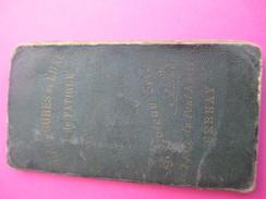 Agenda-Calendrier/Le Pratique/Semainier/Chaussures De Luxe De Fatigue/G Poteau/BERNAY/Eure/1927       CAL356 - Kalenders