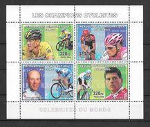 Congo Feuillet Cyclisme Champions ** - Ciclismo