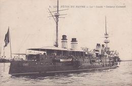 CPA - 76 - LE HAVRE - Les Fêtes Du Havre - Le Condé Croisseur Cuirassé - 5 - RARE !!!!! - Le Havre