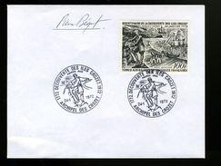 P10 Premier Jour TAAF N° 27 Bicentenaire, Signée Pierre Béquet - FDC
