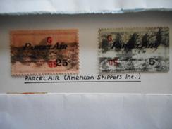 PRIVAATPOST PARCEL AIR (AMERICAN SHIPPERS INC) - 1845-47 Provisorische Ausgaben