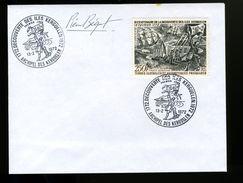 P10 Premier Jour TAAF N° 28 Bicentenaire, Signée Pierre Béguet - FDC