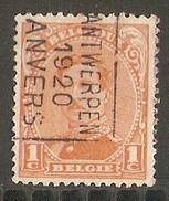 Antwerpen 1920 Nr. 2480B - Preobliterati