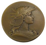Paris - Société D'excursions Des Amateurs De Photographie - Concours Vues De Paris 1906 - Bronze - 51mm - 66 Gr. - - Professionals / Firms
