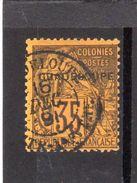 Guadeloupe:timbre Surchargé  N° 23 - Oblitérés