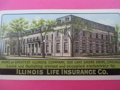Petit Calendrier De Poche Recto-Verso//Chicago/USA/Illinois Life Insurance Co./The Whitehead & Hoag Co/1924   CAL360 - Calendari
