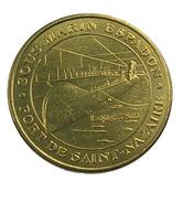 Saint Nazaire - Loire Atlantique - Sous Marin Espadon - 2008 - - Monnaie De Paris