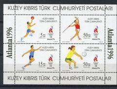 TURKISH REP OF NORTHERN CYPRUS ATLANTA 1996 OLYMPIC GAMES  O417 - Ete 1996: Atlanta