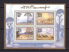 RSA 1989 Art Pierneef MNH -(V-28) - Art
