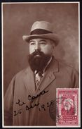 """EXTREMELY RARE - ANNULATION """" GUISEPPE MAZZINI - PIRUSCAFU """" ON 1928 EGYPTIAN STAMP CONGRES INTERNATIONAL DE MEDECINE !! - Italien"""