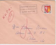 1965 - CACHET CAHORS - NHPAI 11 - - Curiosidades: 1960-69 Cartas