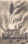 Arras L'hôtel De Ville Et Le Beffroi - Weltkrieg 1914-18