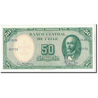 Chile, 5 Centesimos On 50 Pesos, 1960, KM:126b, SPL+ - Chili
