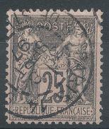 Lot N°36907  N°97, Oblit Cachet à Date De PARIS 14 ( R. De Strasbourg) - 1876-1898 Sage (Type II)