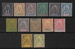 OCEANIE - YVERT N°1/13 * CHARNIERE LEGERE - COTE = 360 EUROS - - Oceania (1892-1958)