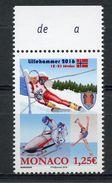 MONACO HONORING THE 1994 LILLEHAMMER WINTER OLYMPIC GAMES   O382 - Winter 1994: Lillehammer
