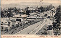 AFRIQUE -- AFRIQUE Du SUD - Railway Station , King Williams Town - South Africa