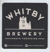 UNUSED BEERMAT - WHITBY BREWERY (NORTH YORKSHIRE) - GREETINGS FROM WHITBY - (Cat 001) - (2015) - Bierviltjes